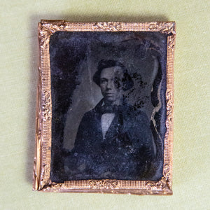 Antique Ambrotype of Young Man