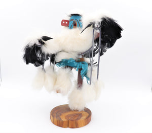 Handmade Navajo Eagle Dancer Kachina Doll
