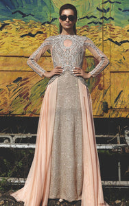 FF-008 Pakistani Bridal Gown-FABBILY
