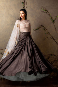 Upcoming Wedding Season Bridal Embroidered Designer Lehenga FF10014