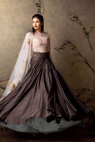 Wedding Season Bridal Embroidered Designer Lehenga FF10014