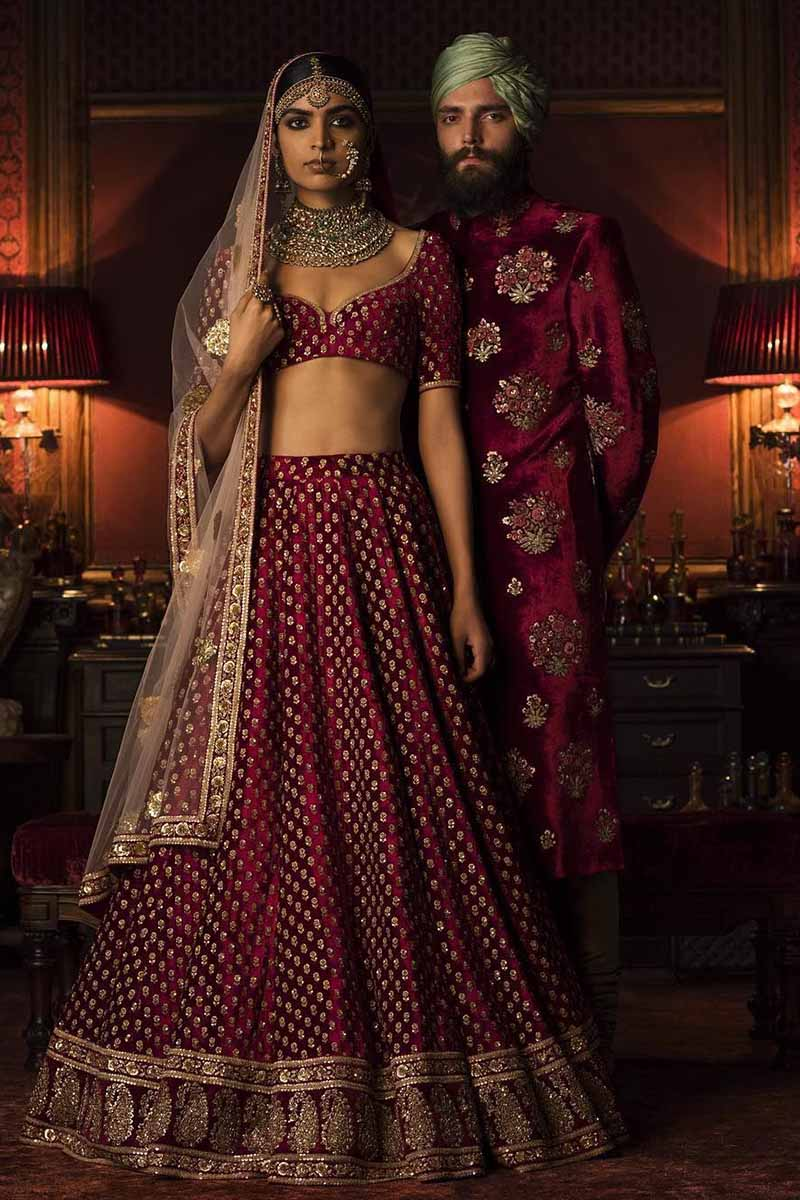 Exclusive Heavy Designer Beautiful Maroon Color Party Lehenga Choli FF132