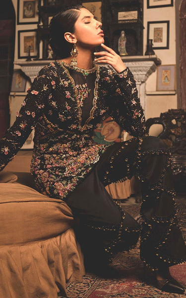 FF-060 Pakistani Bridal Gown-FABBILY