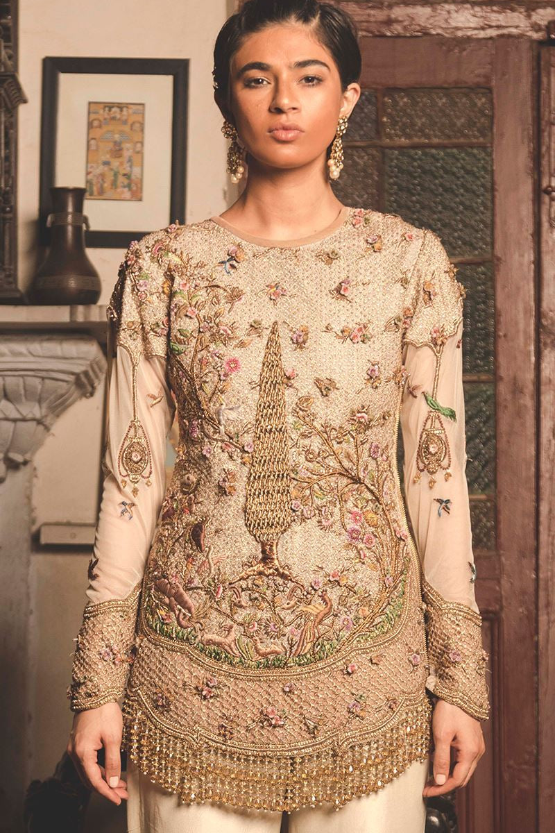 FF-010 Pakistani Bridal Gown-FABBILY