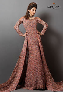 FF-027 Pakistani Bridal Gown-FABBILY