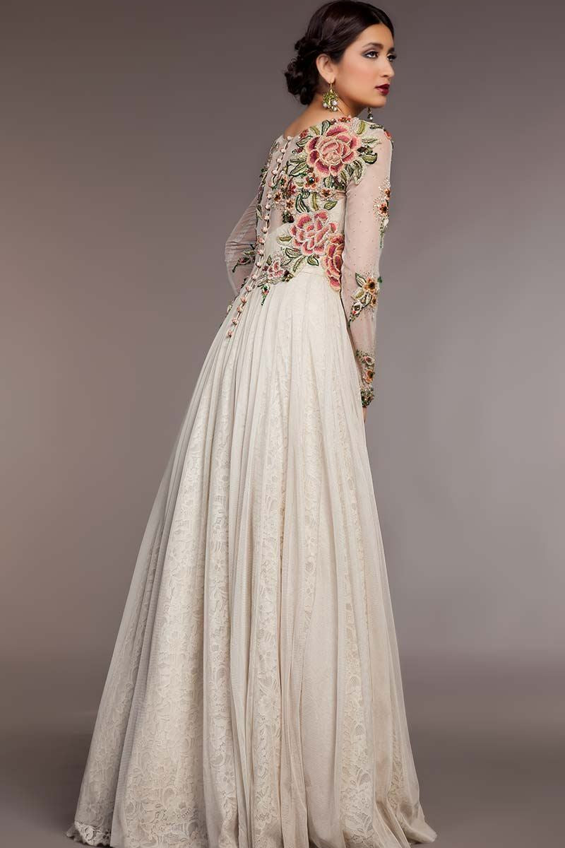 FF-059 Pakistani Bridal Gown-FABBILY