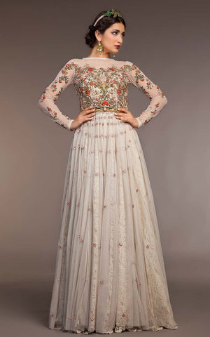 FF-052 Pakistani Bridal Gown-FABBILY
