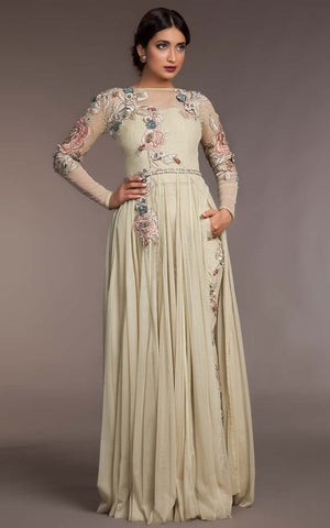 FF-053 Pakistani Bridal Gown-FABBILY