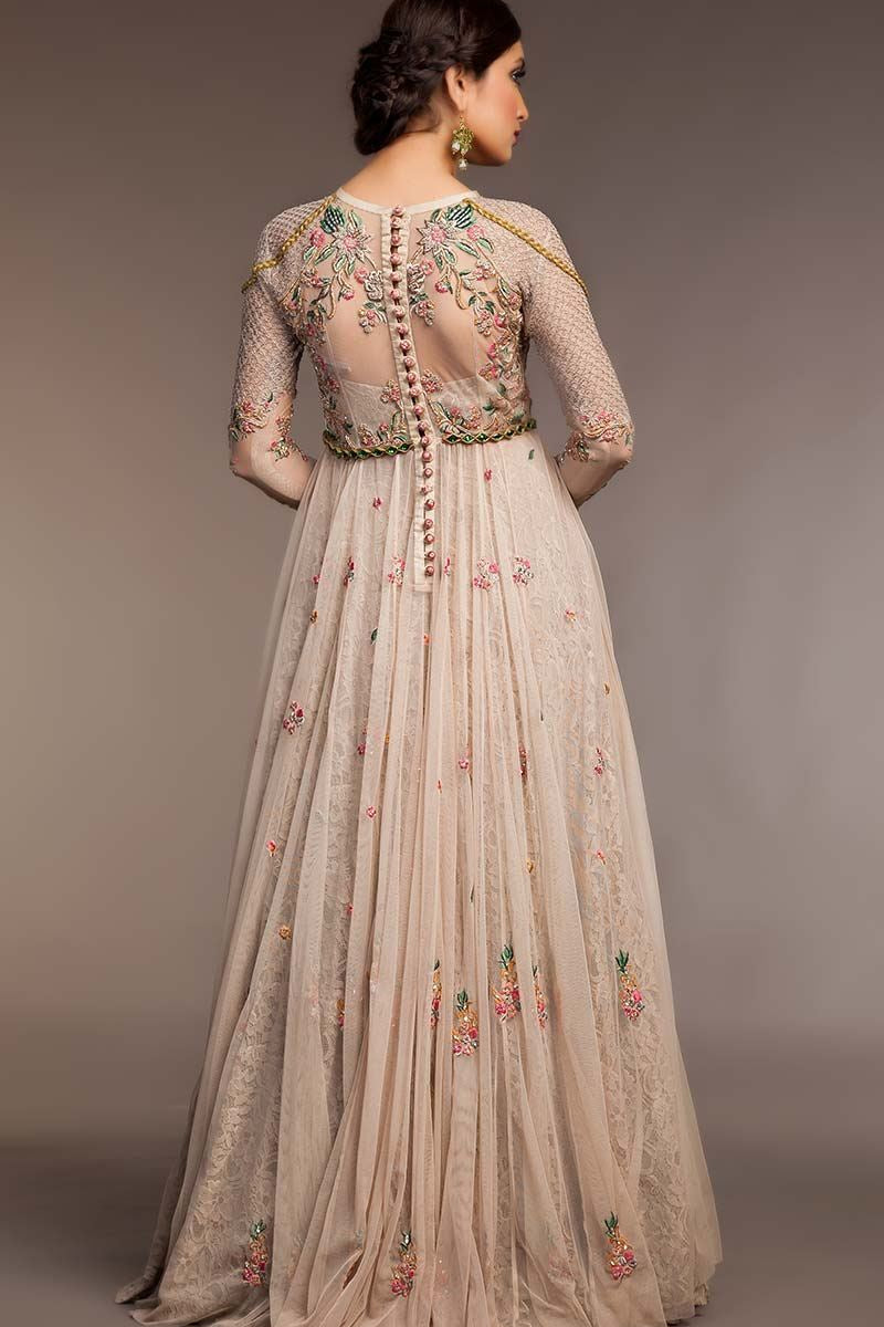 FF-050 Pakistani Bridal Gown-FABBILY