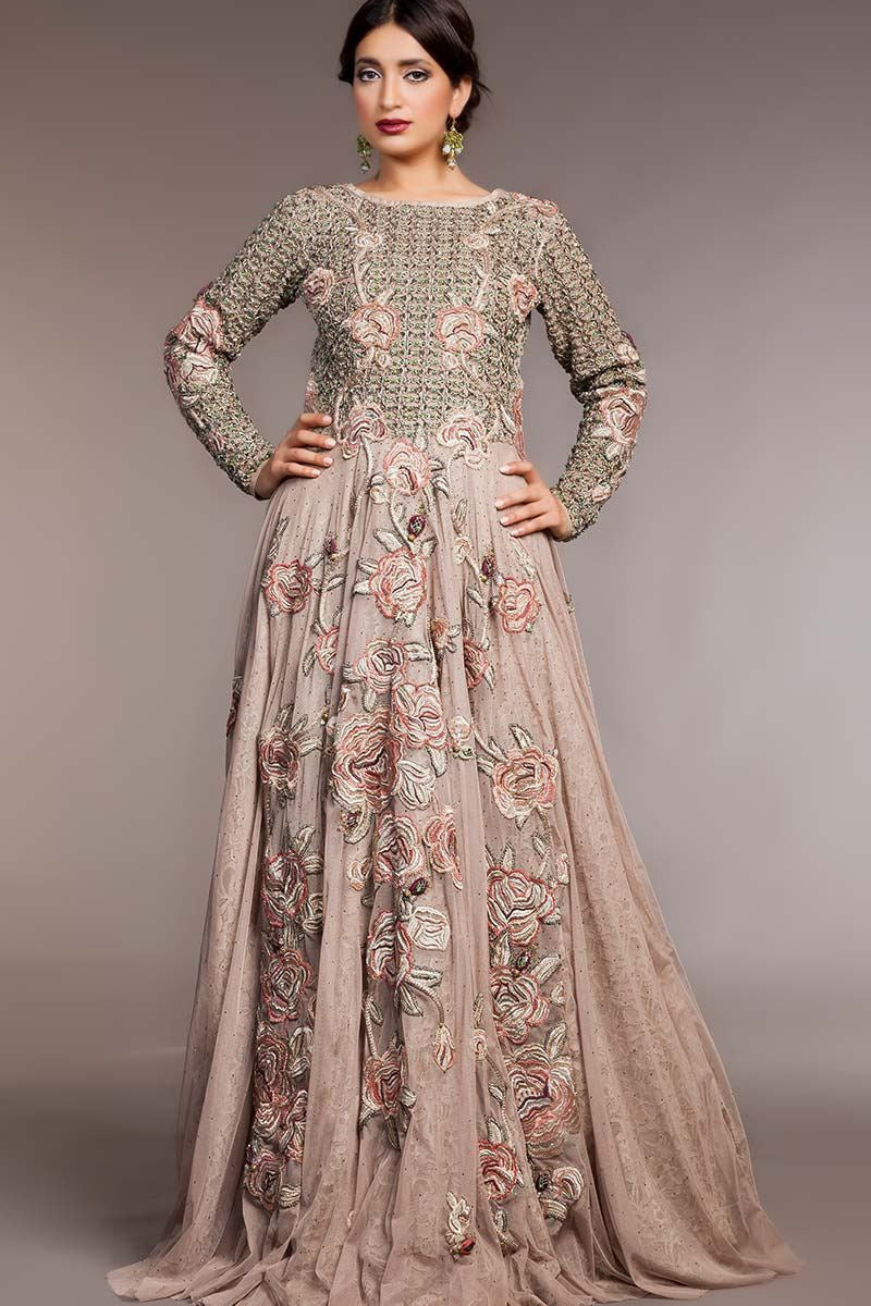 FF-012 Pakistani Bridal Gown-FABBILY