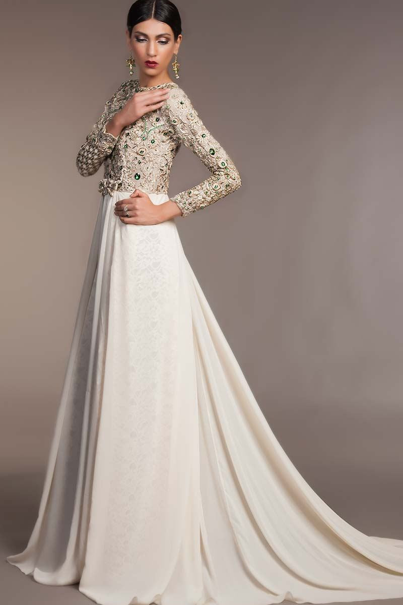 FF-054 Pakistani Bridal Gown-FABBILY