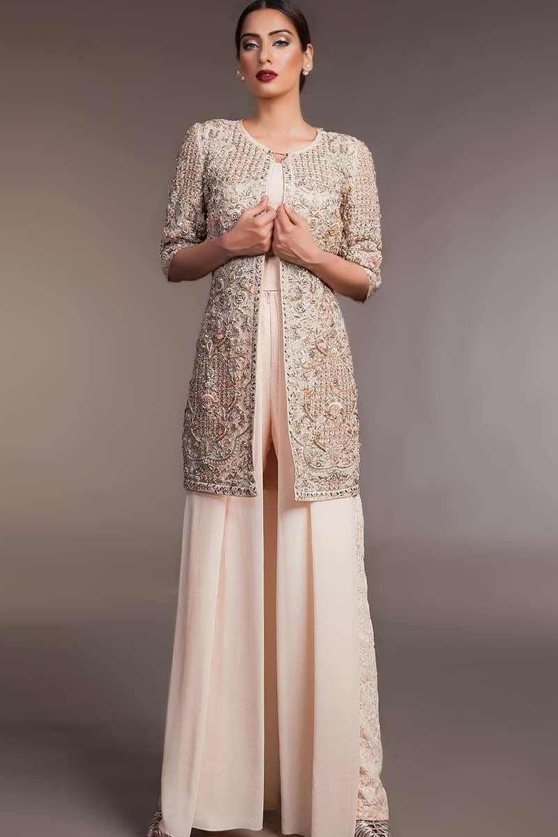 FF-058 Pakistani Bridal Gown-FABBILY