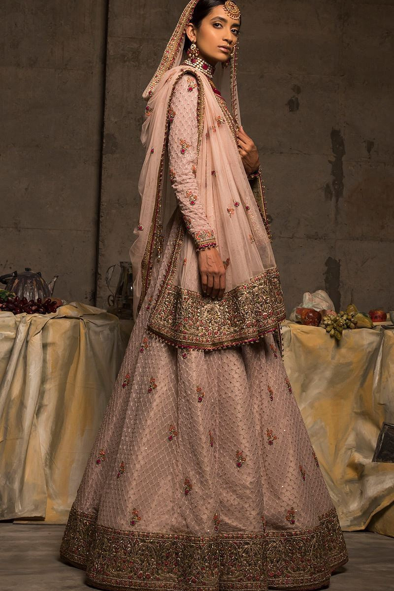 FF-006 Pakistani Bridal Gown-FABBILY