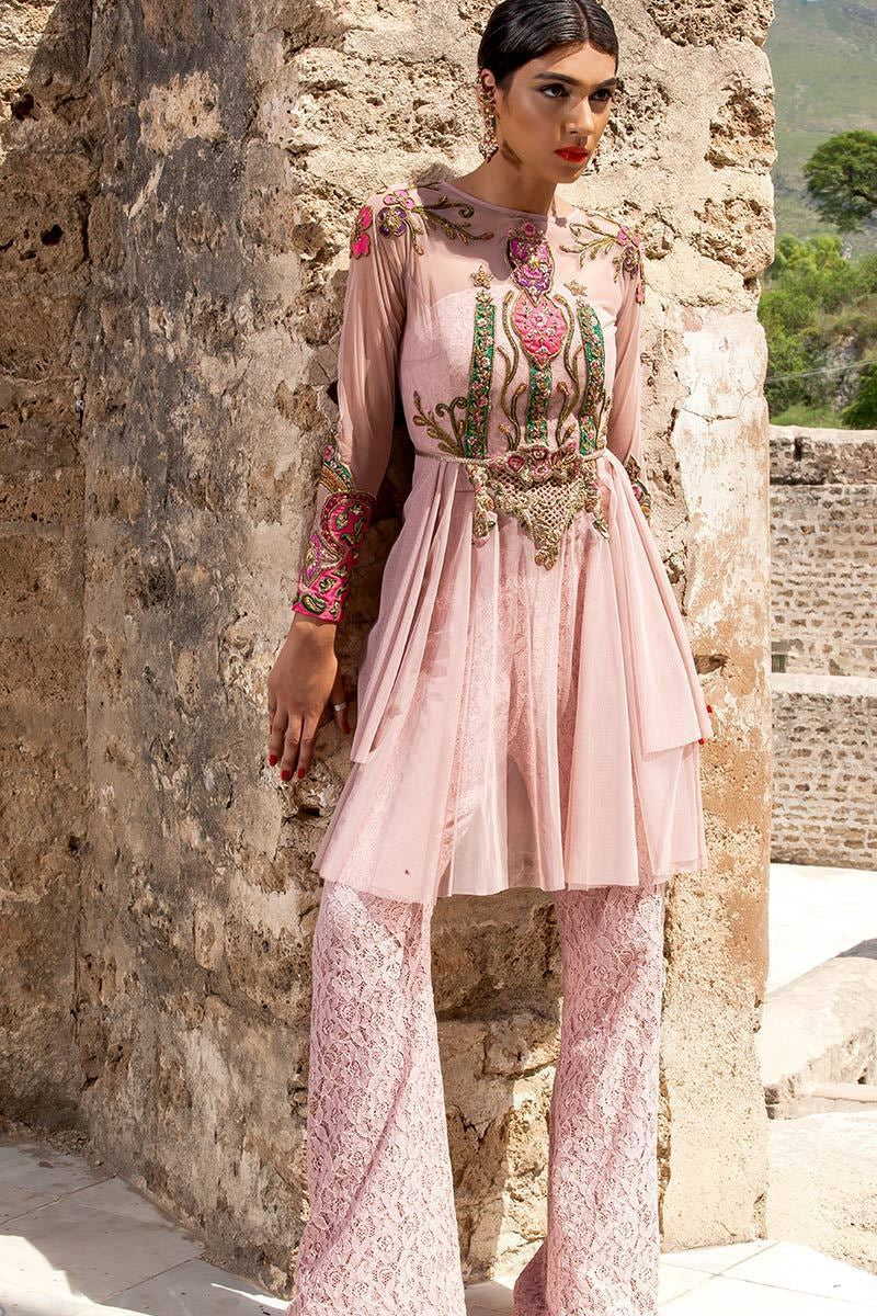 FF-063 Pakistani Bridal Gown-FABBILY