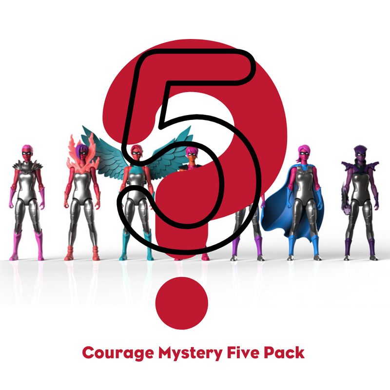 SPECIAL OFFER: Mystery Five-Pack (COURAGE)