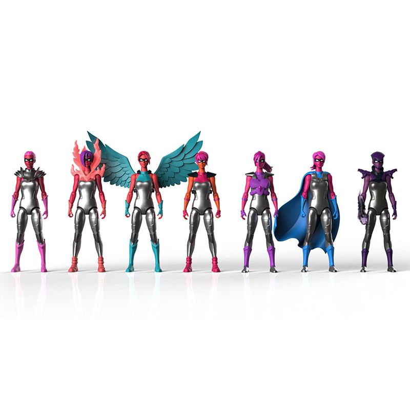 Full Set of 7 Courage Figures