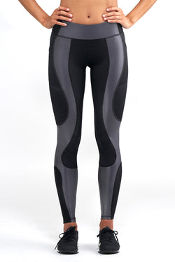 Astor Legging - Gunmetal