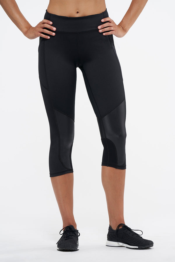 Bleecker Crop Legging - Black