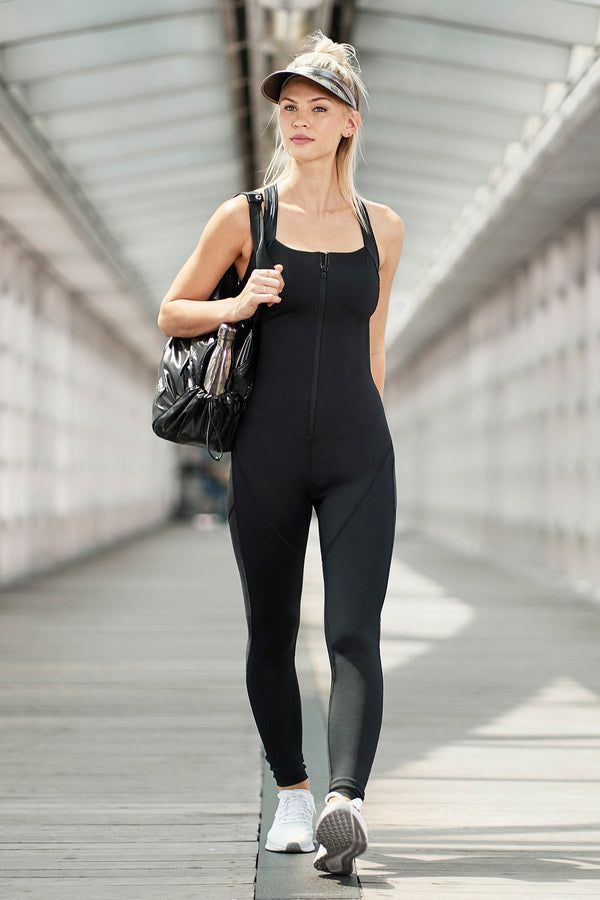 Delancey Jumpsuit  - Black