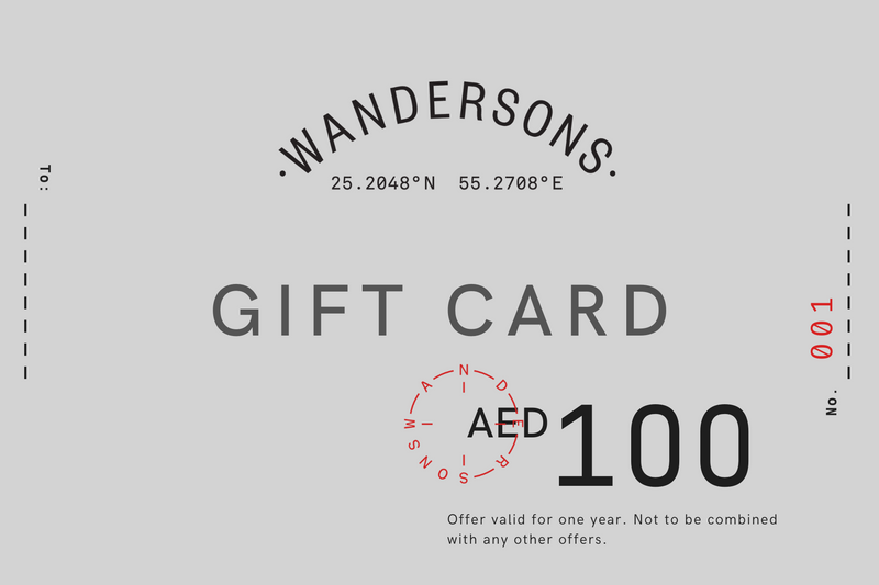 Wandersons Gift Card