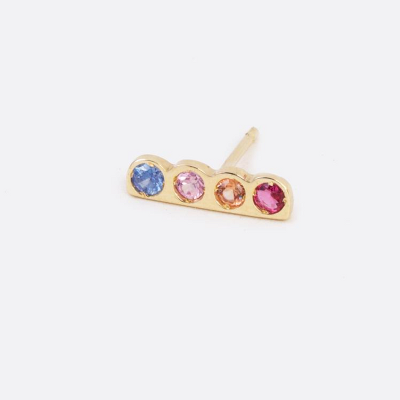 Scosha Rainbow Cloud Stud Earring