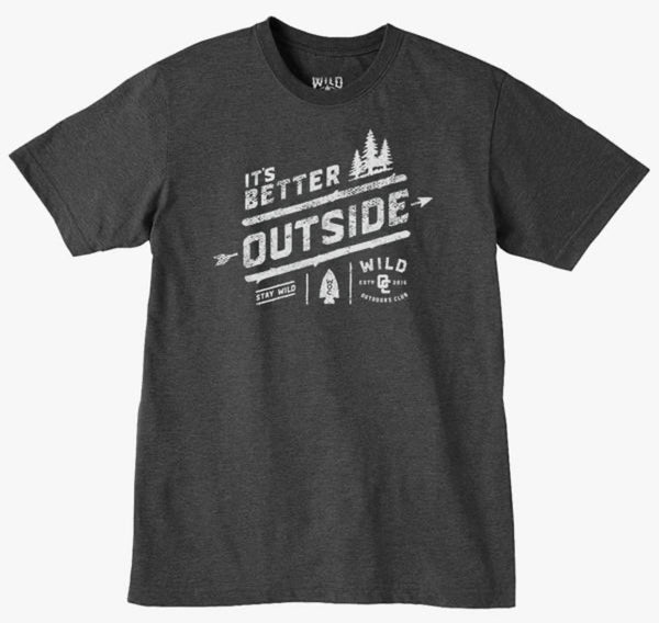 It's Better Outside Shirt
