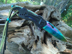 TITANIUM Blade Folding Tactical Pocket Knife