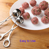 Kitchen Convenient Stainless Steel Stuffed Meatball Maker