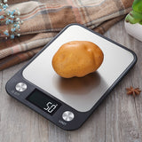 LCD Display 10kg/1g Multi-function Stainless Steel Digital Food Kitchen Scale