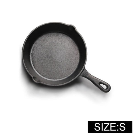 Cast Iron Non-stick 14-20CM Skillet Frying Pan