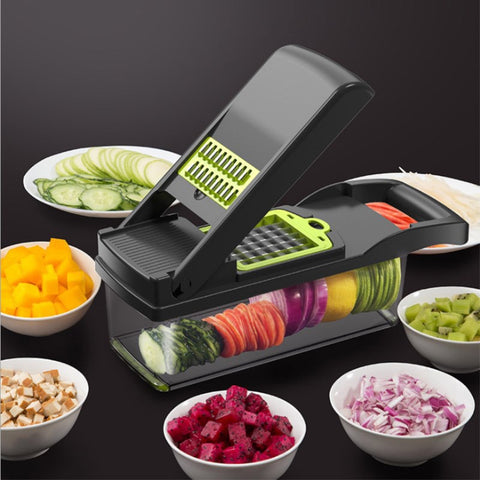 Multifunctional  Mandoline Vegetable Fruit Slicer Grater Cutter Peeler