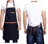Unisex Work Adjustable cooking kitchen aprons