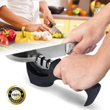 Stainless Steel Professional Knife Sharpener Kitchen Tool