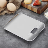 LCD Display 1g/0.1oz Stainless Steel Digital Kitchen Scale