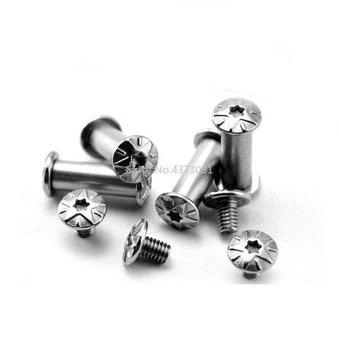 4 Pieces Sleeve Screws for Folding Knife Making DIY