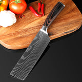 XITUO 8 Pcs Stainless Steel Professional Chef Knife Set