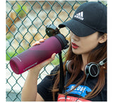 500ML 1000M Hot Outdoor Sports Water Bottle Protein Shaker