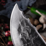"7.6"" Handmade Forged Butcher Meat Knife"