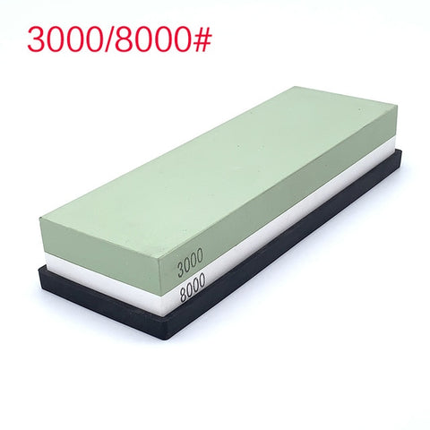400 1000 3000 grit Double-sided Professional knife Sharpener sharpening stone