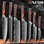 XITUO 10 Pcs kitchen chef knives Set