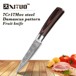 8 inch Utility Chef Knives Imitation Damascus steel Santoku Knives