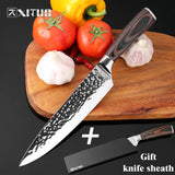 "XITUO  8""inch 7Cr17Mov Stainless Steel Chef Knives"