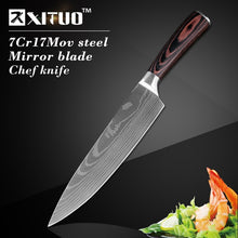 "Load image into Gallery viewer, XITUO 8""inch japanese Santoku Chef"