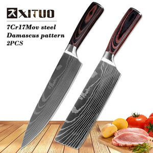 "XITUO 8""inch japanese Santoku Chef"