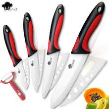 Load image into Gallery viewer, Ceramic Knife Kitchen Knives 3 4 5 6 inch Set