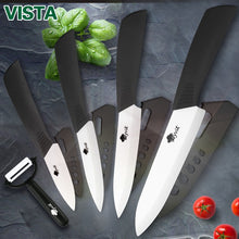 Load image into Gallery viewer, Ceramic Knives Kitchen knives 3 4 5 6 inch Chef knife Set+peeler