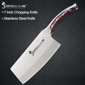Sowoll Stainless Steel Chef Knife