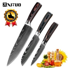 Load image into Gallery viewer, XITUO  7CR17 High Carbon Stainless Steel Japanese chef knife
