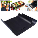 Barbecue Grill Mat Reusable Non-stick BBQ Cooking Baking Mats 33*40cm 0.2mm