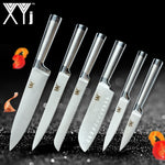 XYj Stainless Steel Santoku Chef Knives Set